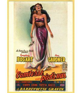 La Comtesse aux pieds nus - Carte postale