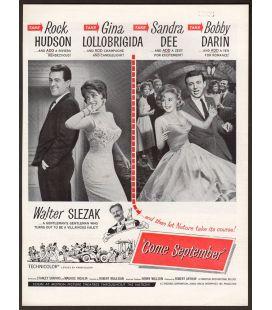 Le Rendez-vous de septembre - Ancienne publicité originale