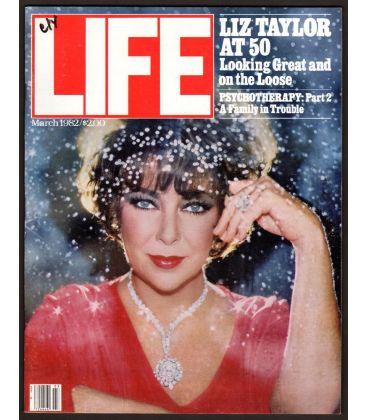 Life Magazine - March 1982 with Elizabeth Taylor