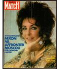 Paris Match Magazine N°1192 - March 11, 1972 with Elizabeth Taylor