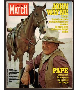 Paris Match Magazine N°1569 - June 22, 1979 with John Wayne