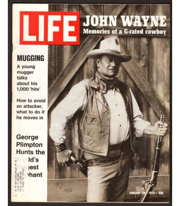 Life Magazine - January 28, 1972 with John Wayne