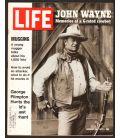 Life - 28 janvier 1972 - Magazine américain avec John Wayne