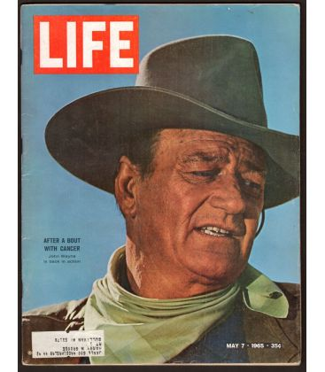 Life - 7 mai 1965 - Magazine américain avec John Wayne