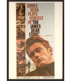 The James Dean Story - Postcard