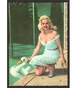 Diana Dors - Vintage Postcard