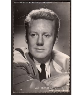 Van Johnson - Vintage Postcard