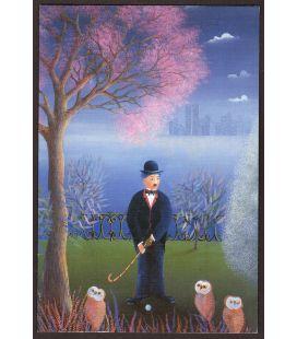 Charles Chaplin - Wish card