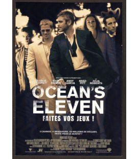 Ocean's Eleven - Carte postale publicitaire