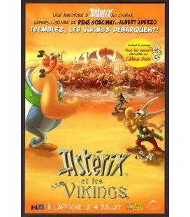 Astérix et les vikings - Carte postale publicitaire