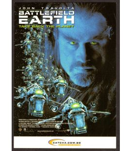 Battlefield Earth - Carte postale publicitaire