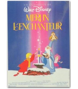 "Merlin l'enchanteur - 47"" x 63"""