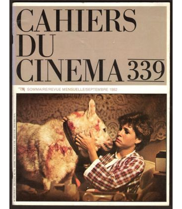 Cahiers du cinéma N°339 - Septembre 1982 - Magazine français avec Kristy McNichol