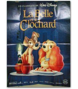 """La belle et le clochard - 47"""" x 63"""""""