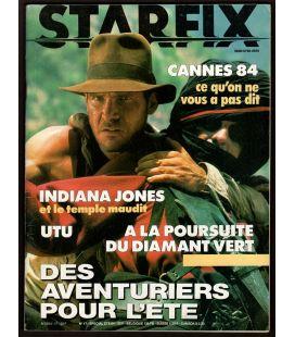 Starfix N°17 - Eté 1984 - Magazine français avec Indiana Jones