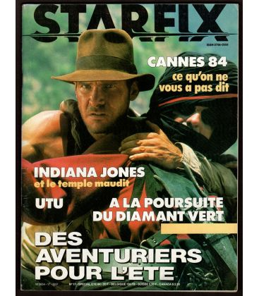 Starfix Magazine N°17 - Summer 1984 with Indiana Jones