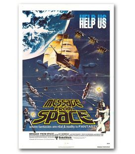 """Les Evadés de l'espace - 27"""" x 40"""" - Affiche originale américaine"""