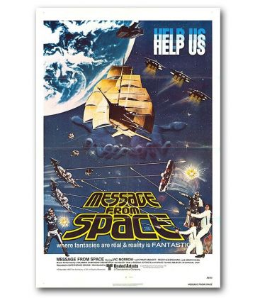"""Message From Space - 27"""" x 40"""" - Original US Poster"""