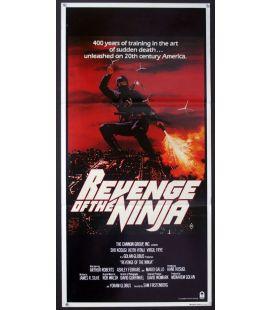 """Revenge of the Ninja - 13"""" x 27"""" - Australian Poster"""