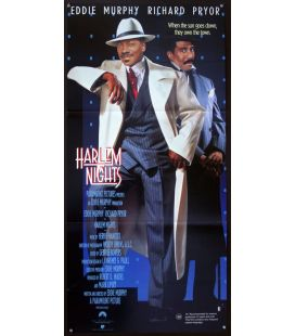 """Les Nuits de Harlem - 13"""" x 30"""" - Affiche originale australienne"""