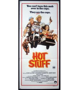"Hot Stuff - 13"" x 30"" - Original Australian Poster"
