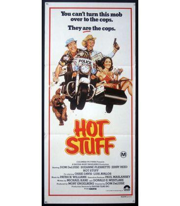 "Hot Stuff - 13"" x 30"" - Original Australian Poster"