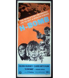 """H-Bomb - 13"""" x 30"""" - Affiche originale australienne"""