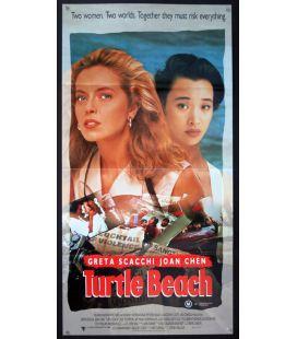 "Turtle Beach - 13"" x 30"" - Original Australian Poster"