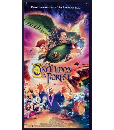 "Once Upon a Forest - 13"" x 30"" - Original Australian Poster"