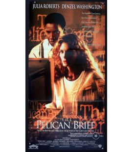 "The Pelican Brief - 13"" x 30"" - Original Australian Poster"