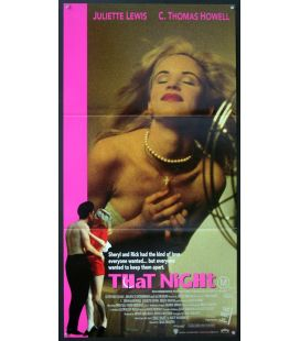 "That Night - 13"" x 30"" - Original Australian Poster"