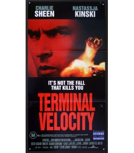 "Terminal Velocity - 13"" x 30"" - Affiche originale australienne"