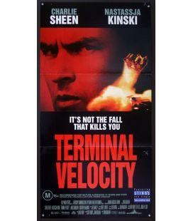 "Terminal Velocity - 13"" x 30"" - Original Australian Poster"