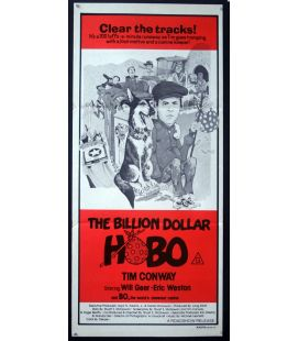 "The Billion Dollar Hobo - 13"" x 30"" - Original Australian Poster"