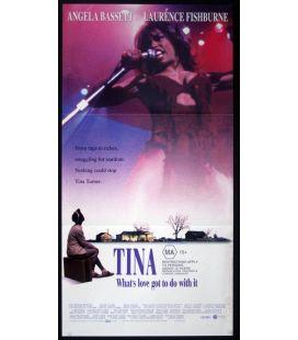 """Tina - 13"""" x 30"""" - Original Australian Poster"""