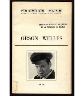 Premier Plan N°16 - Mars 1961 - Ancien magazine français avec Orson Welles