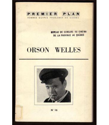 Premier Plan N°16 - Mars 1961 - Magazine français avec Orson Welles