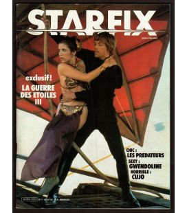 Starfix Magazine N°7 - August 1983 with Star Wars, Return of the Jedi
