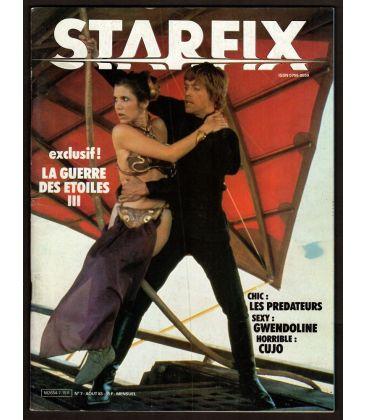 Starfix Magazine N°7 - August 1983 with Star Wars, Return of the Jedi