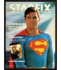 Starfix N°6 - Juillet 1983 - Magazine français avec Superman 3
