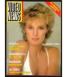 Video News Magazine N°29 - March 1984 with Jessica Lange