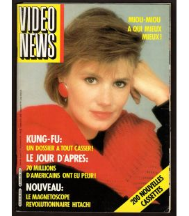 Video News Magazine N°28 - February 1984 with Miou-Miou