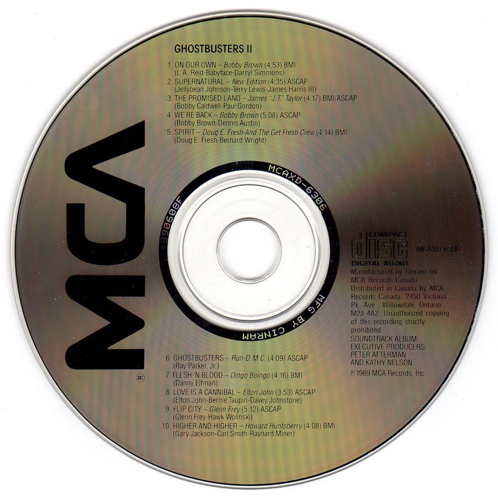 Ghostbusters 2 - Soundtrack - CD - Cinéma Passion