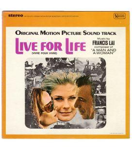 Vivre pour vivre - Trame sonore - 33 tours
