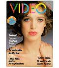 Télé Ciné Vidéo N°40 - Mai 1984 - Ancien magazine français avec Agnès Soral
