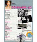 Télé Ciné Vidéo N°40 - Mai 1984 - Magazine français avec Agnès Soral