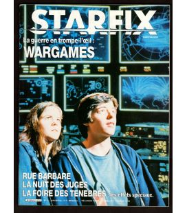 Starfix Magazine N°11 - January 1984 with Matthew Broderick