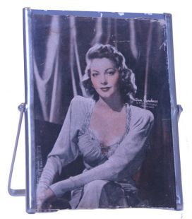 Ava Gardner - Vintage small frame - miror from the 50's