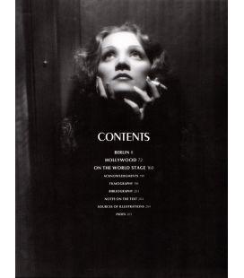 Marlène Dietrich - Livre en anglais