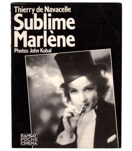 Marlene Dietrich - Sublime Marlene - Book used in french